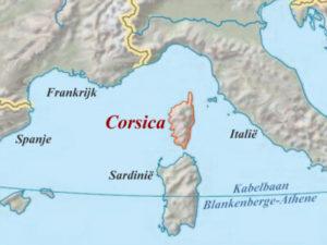 Kaartje Corsica